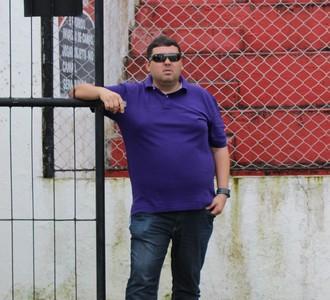Alarcon Pacheco, gerente de futebol do CRB (Foto: Caio Lorena / GloboEsporte.com)