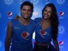 Yanna Lavigne e Bruno Gissoni curtem juntos o Festival de Salvador