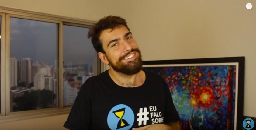 Gabriel Estrela, do Projeto Boa Sorte (Foto: Reprodução)