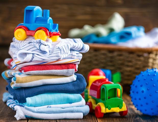 Como guardar as peças do primeiro filho para o próximo? (Foto: Thinkstock)