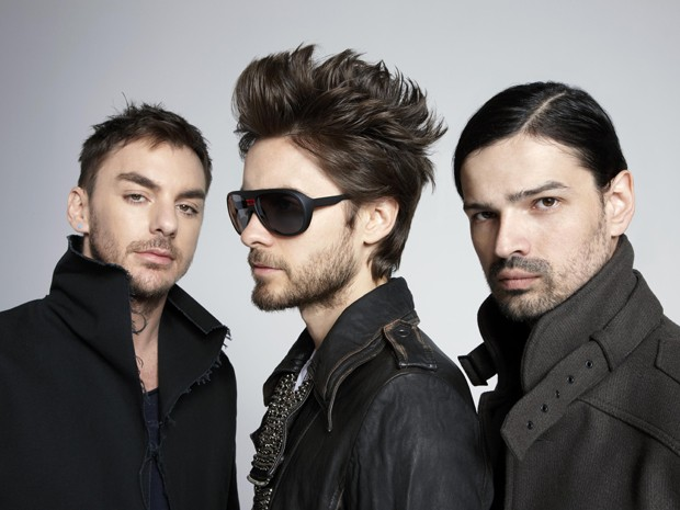 O grupo americano Thirty Seconds to Mars (Foto: Divulgação)