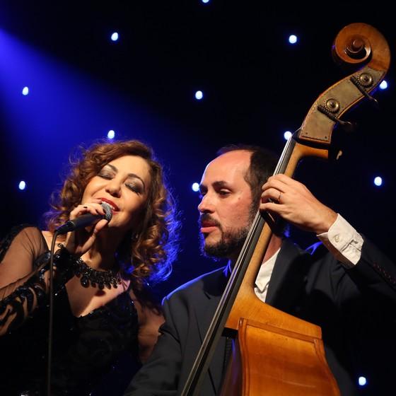 Vânia Bastos e Marcos Paiva estão à frente  do projeto  Concerto para Pixinguinha (Foto: Vinícius Campos)