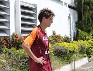 Clebinho, meia do CRB (Foto: Caio Lorena / GloboEsporte.com)