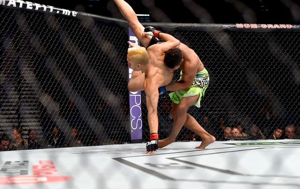 Jon Tuck e Kevin Lee ufc (Foto: Getty Images)