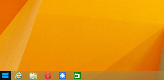 Aplicativos Modern agora podem ter ícones na barra de tarefas (Foto: Reprodução/Edivaldo Brito)