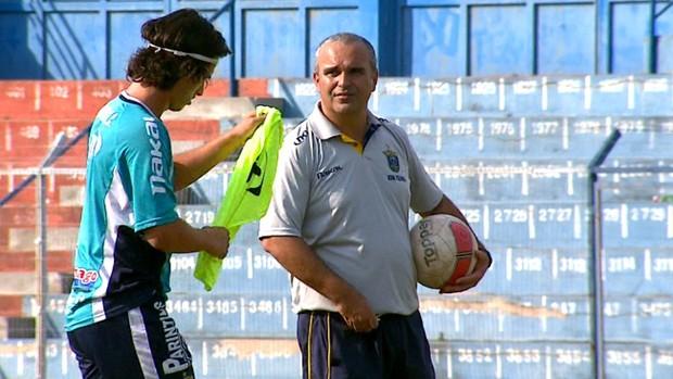 Eduardo Clara, técnico do São Carlos (Foto: Reginaldo dos Santos/  EPTV)