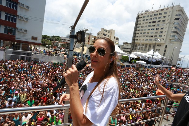 Ivete Sangalo (Foto: Dilson Silva/AgNews)