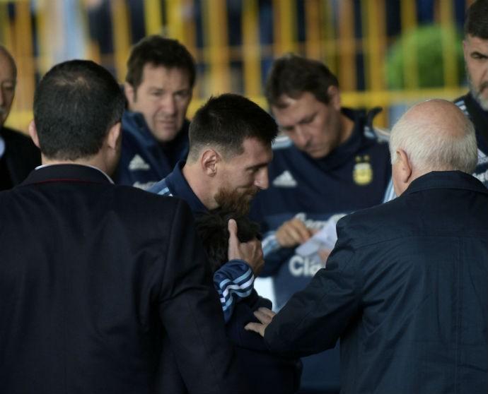 Messi Montevidéu