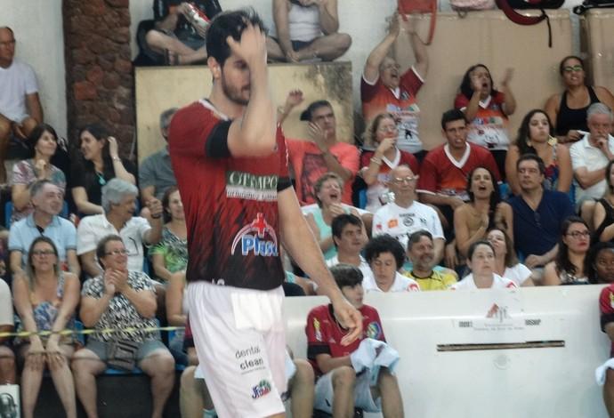 Diego Almeida central JF Vôlei (Foto: Bruno Ribeiro)