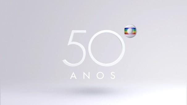 Logo 50 anos (Foto: Globo)