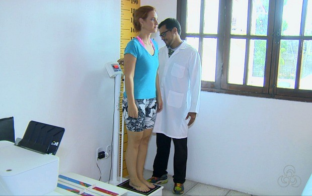 Apresentadora do Globo Esporte em RO, Karina Quadros encara desafio no 'Eu Triatleta' (Foto: Globo Esporte)