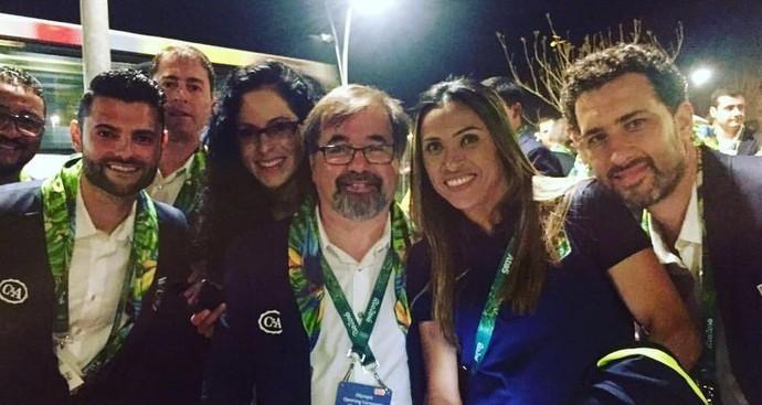 Marta cerimônia de abertura da Olimpíada no Maracanã (Foto: Twitter)