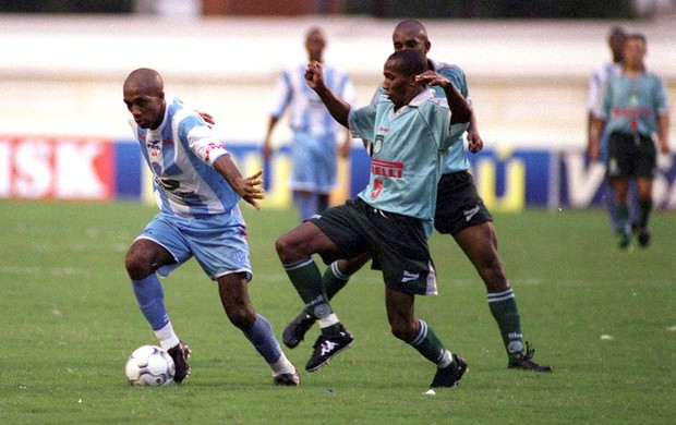 Trindade durante a partida da semifinal contra o Palmeiras (Foto: Raimundo Pacco/O Liberal)