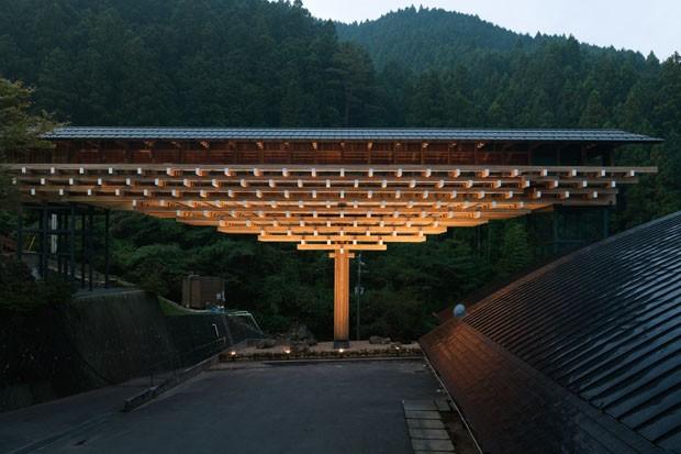 Yusuhara Wooden Bridge Museum   (Foto: Takumi Ota/ divulgação )