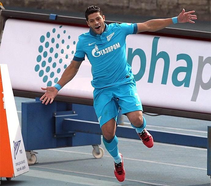 Hulk comemora gol do Zenit contra o CSKA (Foto: Reprodução / Instagram)
