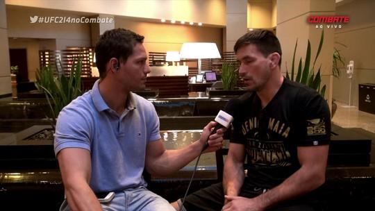 """Demian sobre luta pelo título no UFC 214: """"Talvez não tenha outra chance"""""""