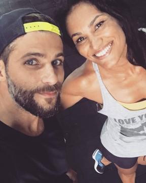 Jamille Farath e Bruno Gagliasso (Foto: Reprodução/Instagram)
