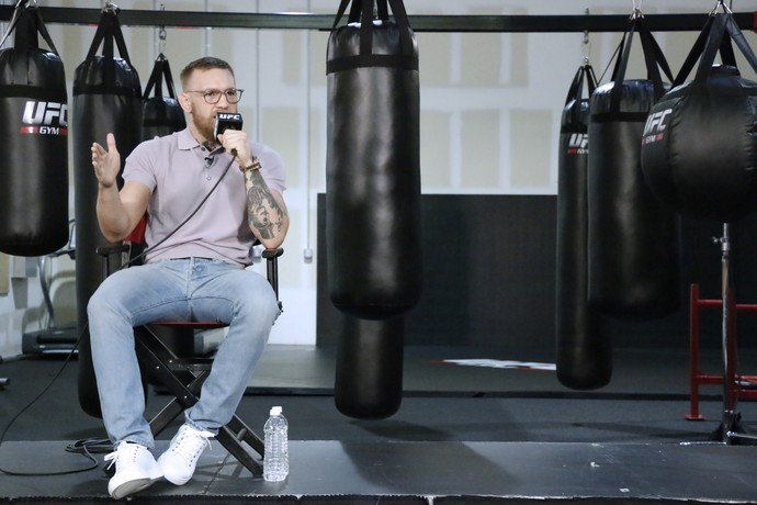 Conor McGregor; Media Day; UFC 202 (Foto: Evelyn Rodrigues)