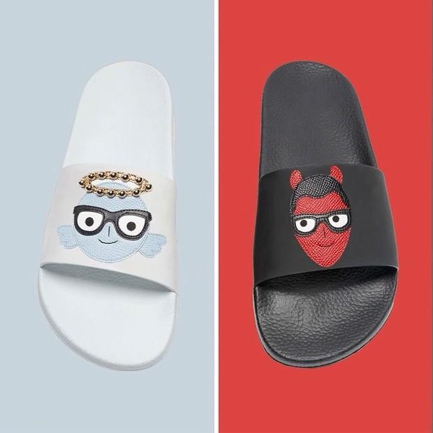 Sliders da nova coleção Angels and Devils, da Dolce & Gabbana (Foto: Divulgação )