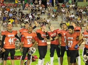 Sinop Coyotes venceu o Tangará Taurus por 72 a 0 (Foto: Reprodução/Facebook)