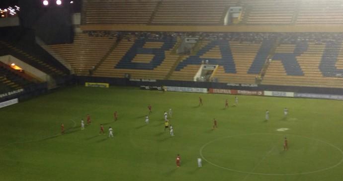 Barueri e Guaicurus se enfrentam na Arena Barueri, pela Copa SP (Foto: Divulgação/Guaicurus)