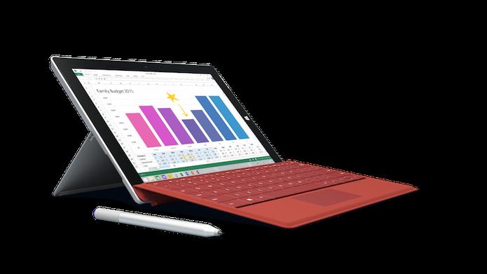 Microsoft anunciou a terceira versão do tablet Surface e reduziu o preço dele (Foto: Divulgação/Microsoft)