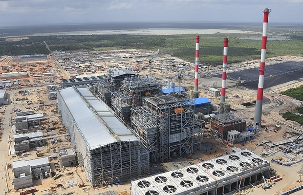 Termelétrica do Pecém, no litoral do Ceará (Foto: Governo do Estado/Divulgação)