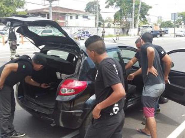 """Polícia prende dois suspeitos em operação """"Belém Segura"""" (Foto: Ascom/PC)"""