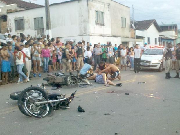 Vítima de acidente morre em Pouso Alegre. (Foto: Wililam Cobra)