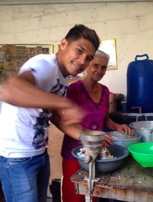 Teo Gutierrez férias empanadas (Foto: Reprodução/Twitter)