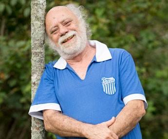 O ator veterano é ovacionado pelo público por suas cenas em 'A Regra do Jogo' (Foto: Felipe Monteiro / Gshow)