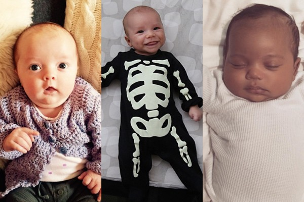 Filha de Jimmy Fallon, filho de Naya Rivera, filho de Kim Kardashian  (Foto: Reprodução Instagram)