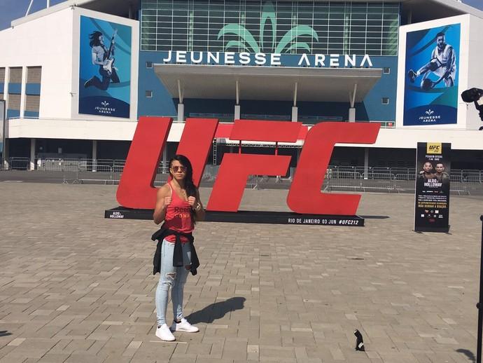 Cláudia Gadelha; UFC 212; UFC Rio 8 (Foto: Ana Hissa)