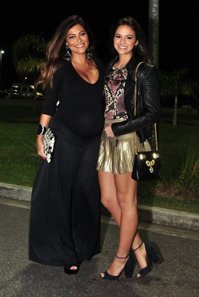 Juliana Paes e Bruna Marquezine (Foto: Roberto Teixeira/ EGO)