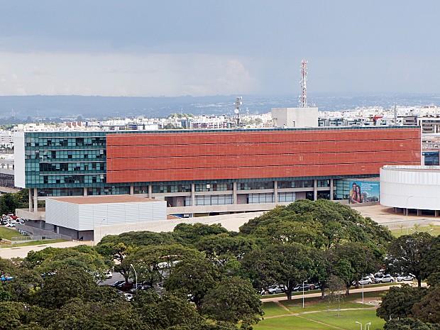 Sede da Câmara Legislativa do Distrito Federal localizada na Praça Municipal, quadra 2, Lote 5 (Foto: Ricardo Moreira / G1)