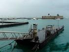 Apesar do mau tempo, travessia Mar Grande funciona sem interrupções
