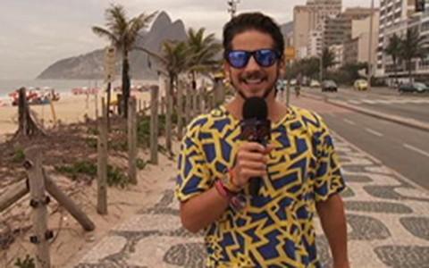 Caio Braz vai à praia no Rio para desvendar os hits do verão 2013