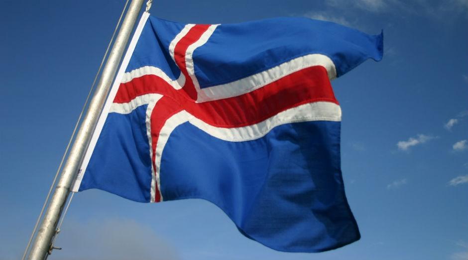 Bandeira da Islândia  (Foto: Wikimedia Commons)