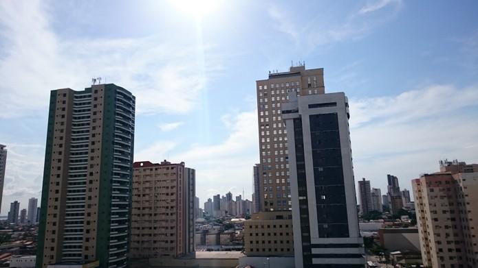 Mesmo com incidência direta do sol, imagens do Z3 ficam com bom contraste e não estouram (Foto: Paulo Alves/TechTudo)