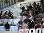 Torcida do Timão entra em conflito com policiais no Maraca; fotos e vídeo