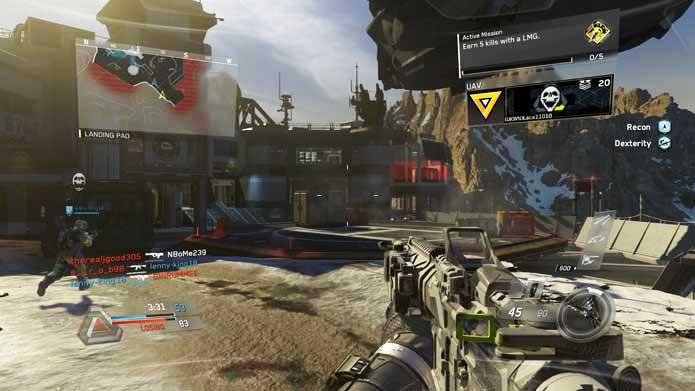 Call of Duty: Infinite Warfare está mais bonito do que nunca (Foto: Reprodução/Murilo Molina)