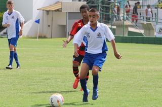 Seleção de Votorantim x Flamengo, pela Copa Brasil de Futebol Infantil (Foto: Prefeitura de Votorantim / Divulgação)