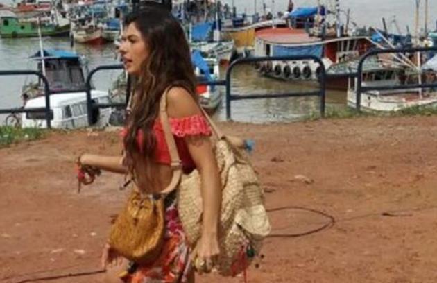 Gloria Perez postou em seu Instagram uma imagem de Isis Valverde caracterizada (Foto: Reprodução)