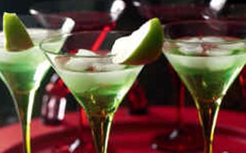 Receitas da Nigella: Martini de maçã verde