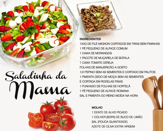 Anote a receita da Salada da Mama, prato predileto de Ivete Sangalo (Foto: SuperStar/TV Globo)