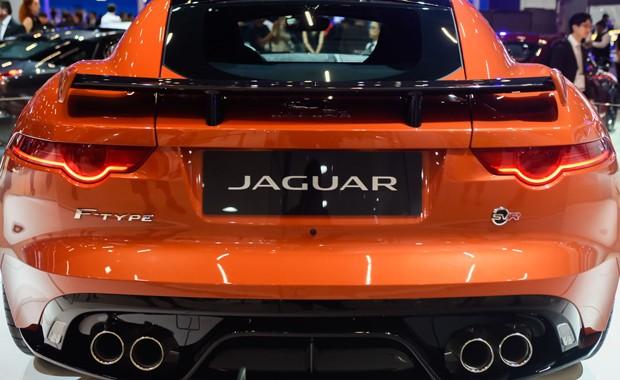 Jaguar F-Type SVR (Foto: Flavio Moraes/G1)