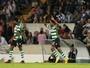 Elias faz golaço, com falha do goleiro, mas Sporting cede empate no fim