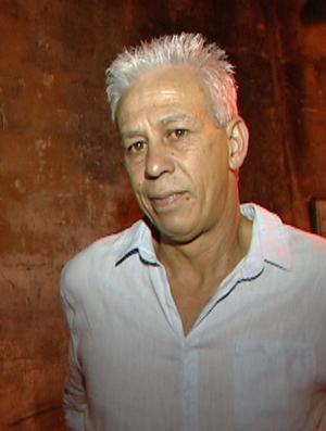 Moreno, técnico do Aracruz (Foto: Reprodução/TV Gazeta)