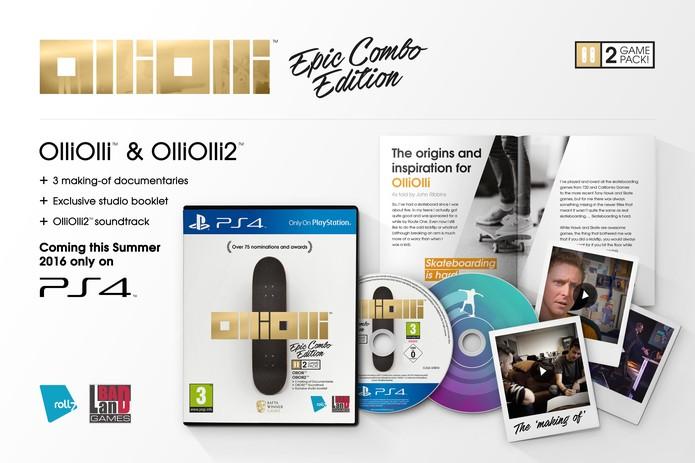 OlliOlli: Epic Combo Edition (Foto: Divulgação/Bad Land)