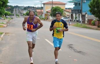 Cerca de 100 corredores de participam da Corrida do Trabalhador em Cacoal